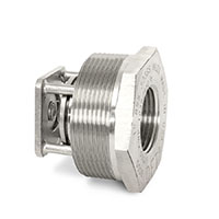 "1/4"" 316 SS BSS Style Basic-Check® Threaded In-Line Check Valve"