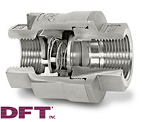 SCV® Threaded In-Line Check Valves - 4