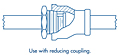 Valve with Reducing Coupling