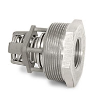 Restrictor Threaded In-Line Check Valves